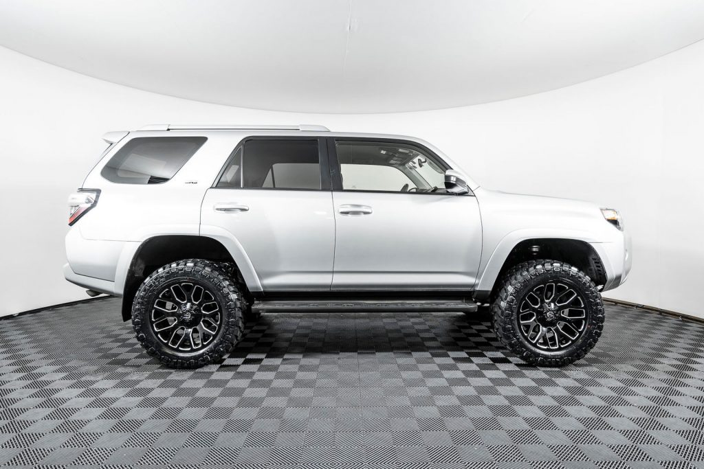 the lifted toyota 4runner is a NWMS favorite