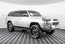 take a look at the NWMS buyer's guide favorite vehicle right now: Toyota's Lifted 4Runner