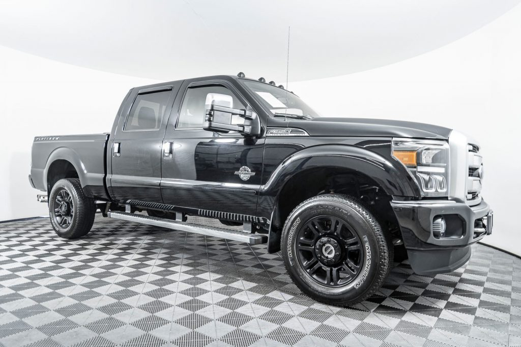 Ford F-350 Platinum 4x4