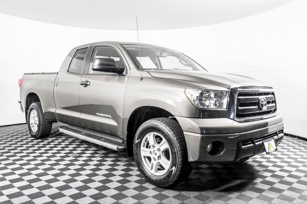 Dusty's pick was this great toyota tundra