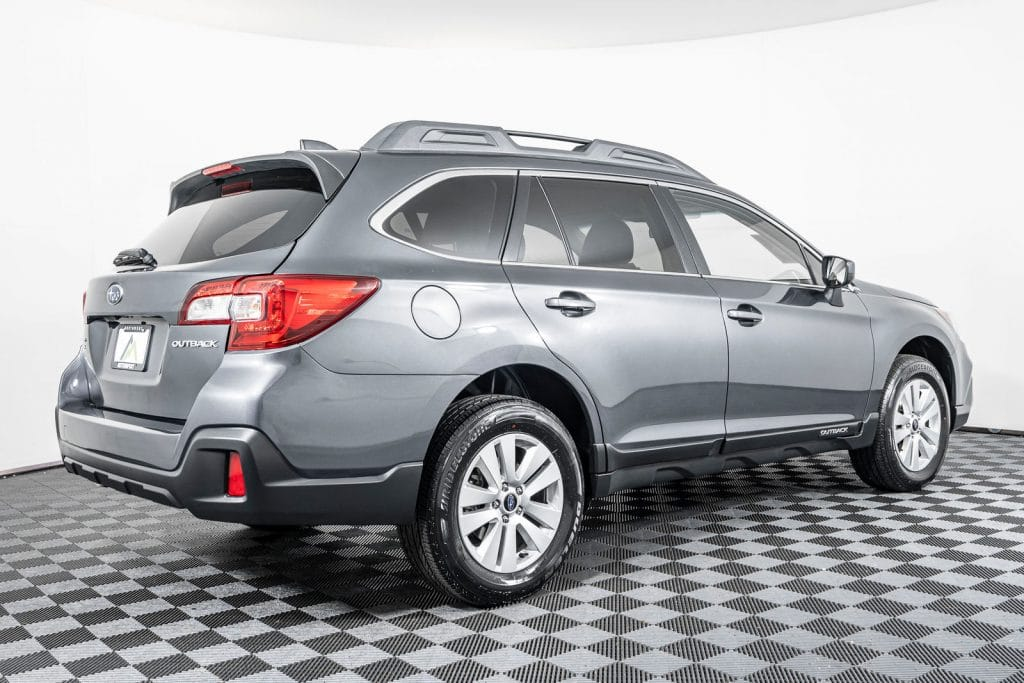 the Subaru outback is not a soccer mom car!