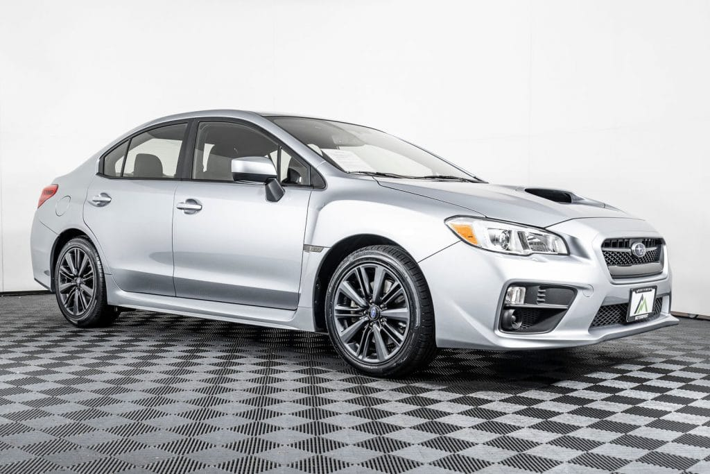 a subaru WRX is a great back to school vehicles