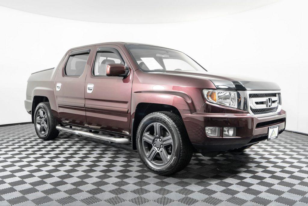 the honda ridgeline is a great truck
