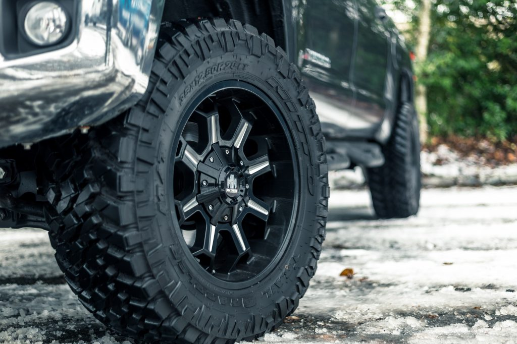 be sure to get the right tires for 4x4 off-roading