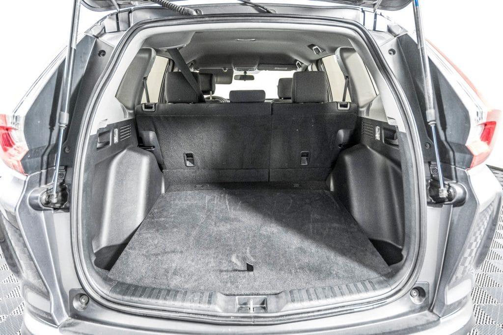 Honda CRV Family Road Trip Trunk Space