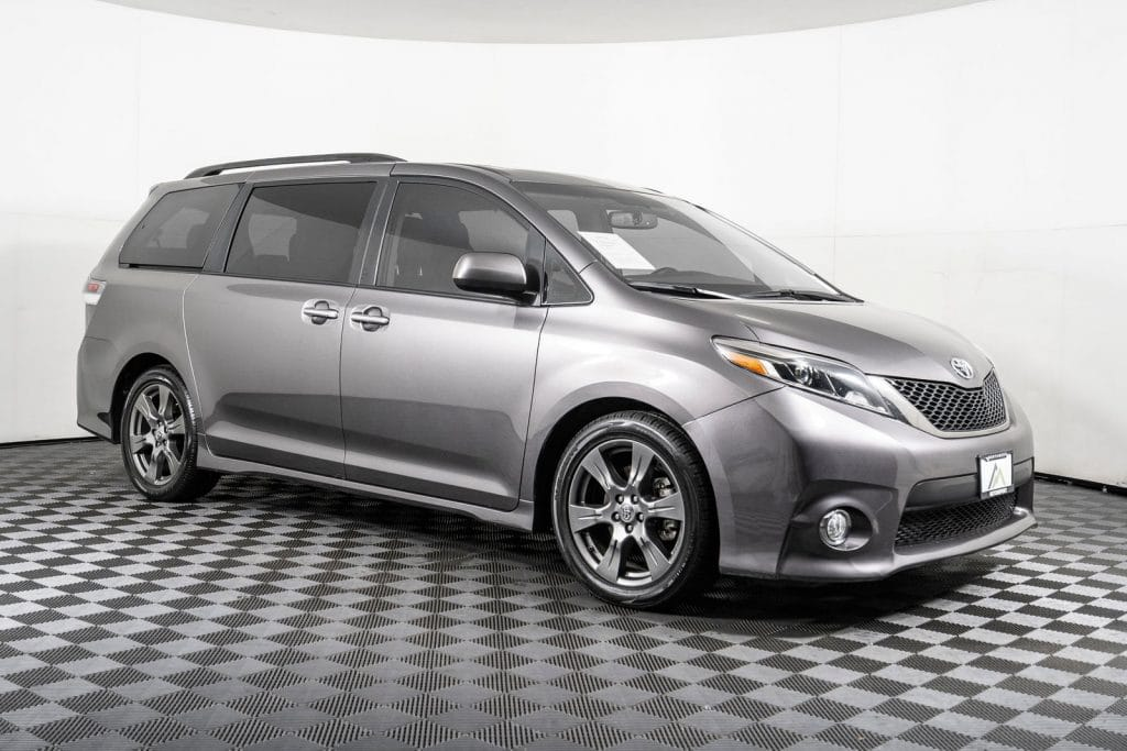 toyota sienna - best family road trip vehicle