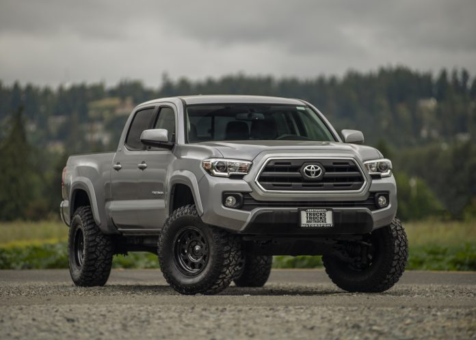 looking at the toyota tacoma through the years