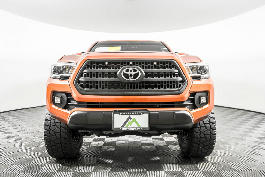 the toyota tacoma through the years of 2016 to the present