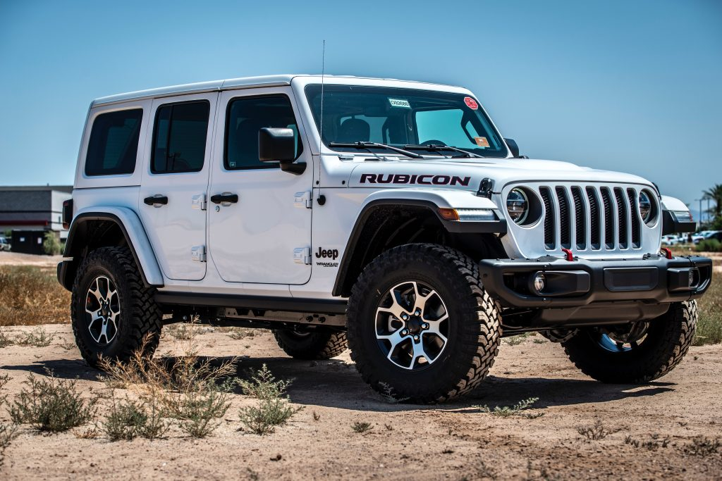 we love the jeep rubicon