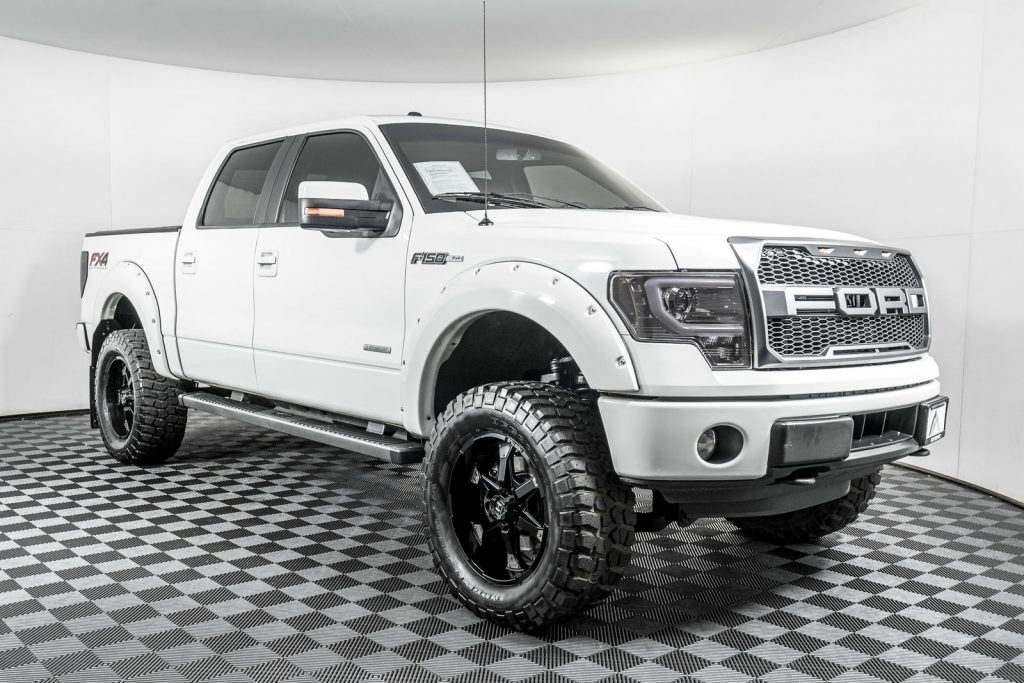 one of the coolest custom ford trucks at NWMS is the 2014 Ford F-150 FX4 4X4