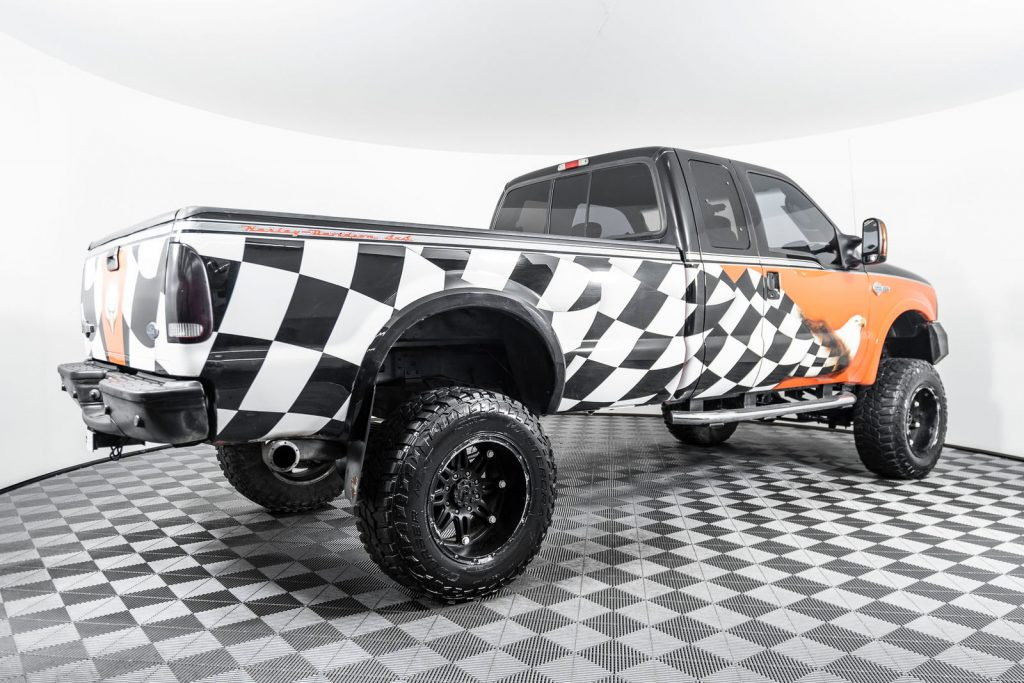 one of the coolest custom ford trucks at NWMS is the 2004 ford F-250