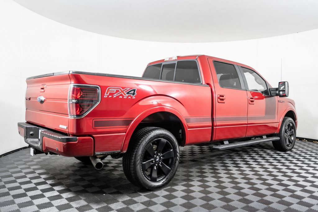 one of the coolest custom ford trucks at NWMS is the 2012 Ford F150 Fx4 4x4
