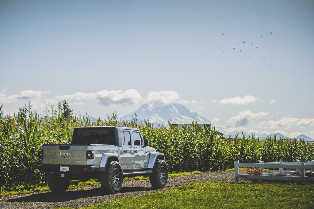the Gladiator is one of the best of all jeep models