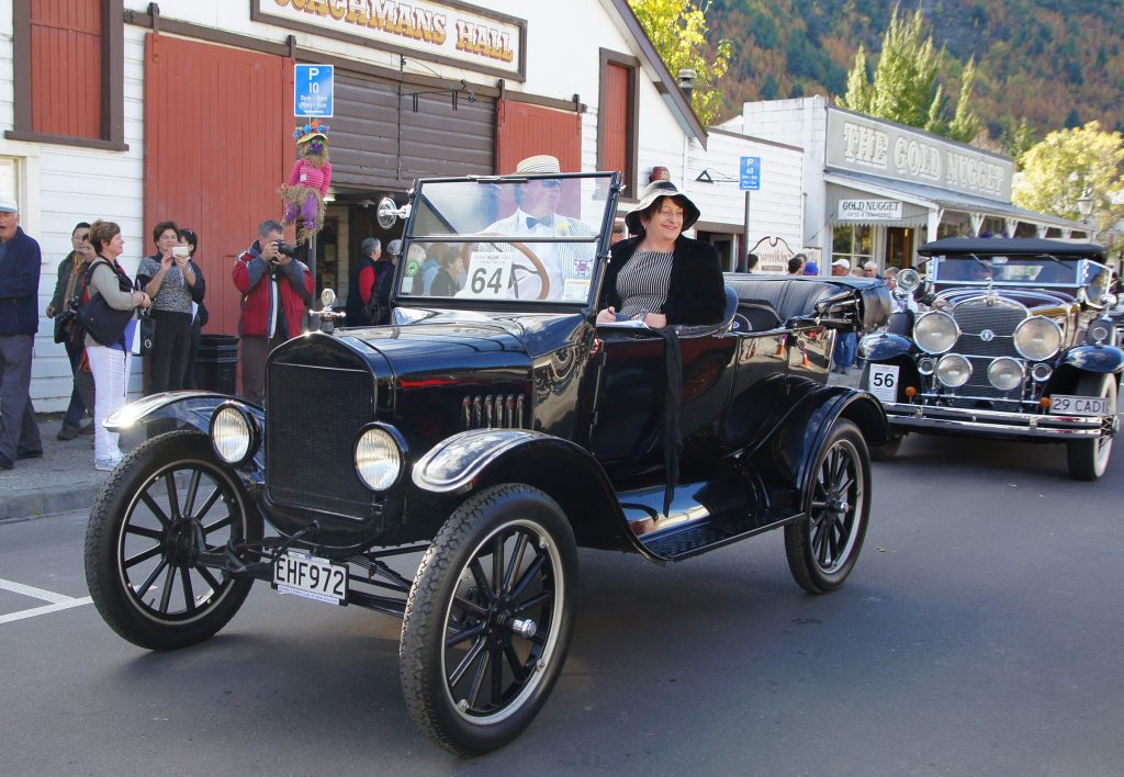 the history of car colors starts with the Model T Ford