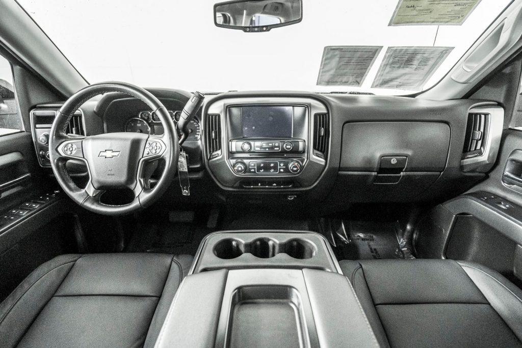 the interior of the 2017 Chevy Silverado Body Style Timeline
