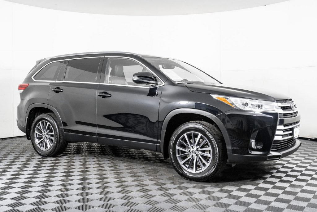 the Toyota Highlander is a very popular family crossover vehicle