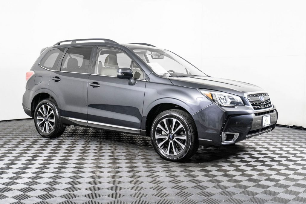 the subaru forester is a great family car