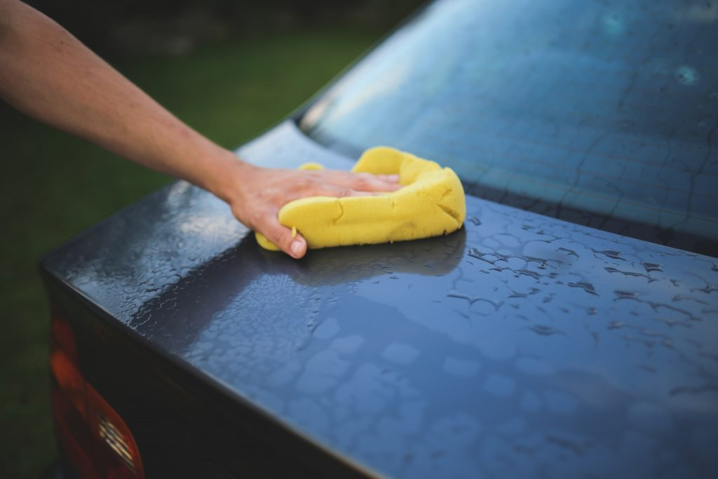 make sure you have the correct car exterior cleaning supplies