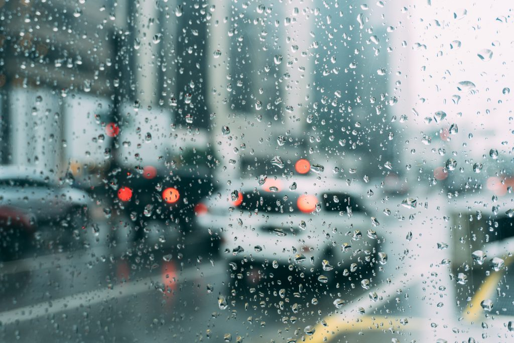 One of the most important things you can do when driving in the rain is to slow down.