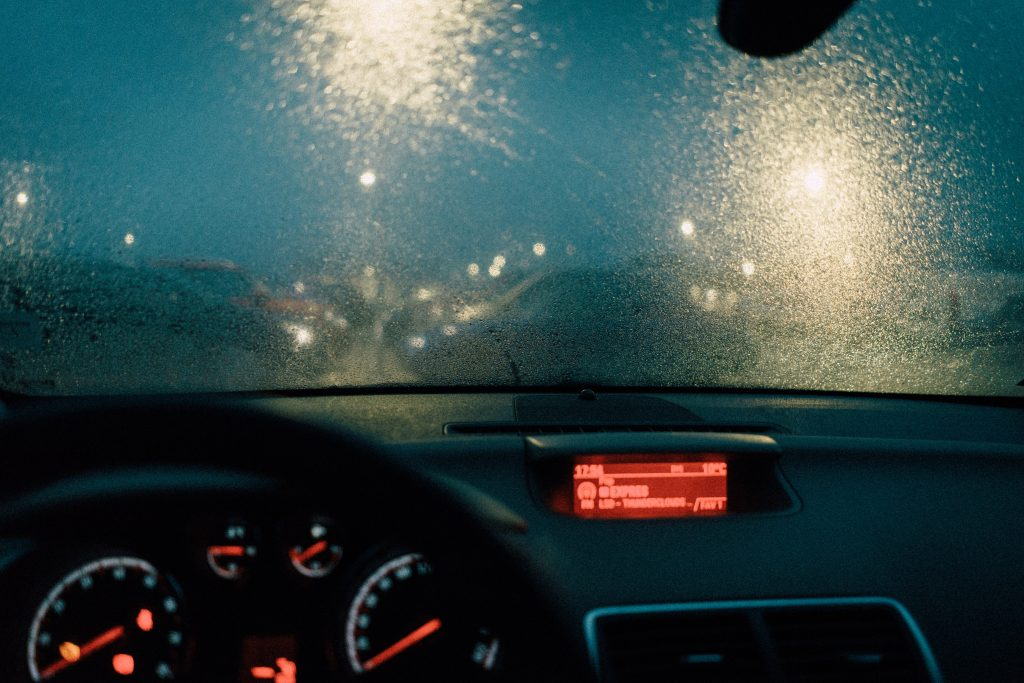 Visibility is important both outside and inside your car.